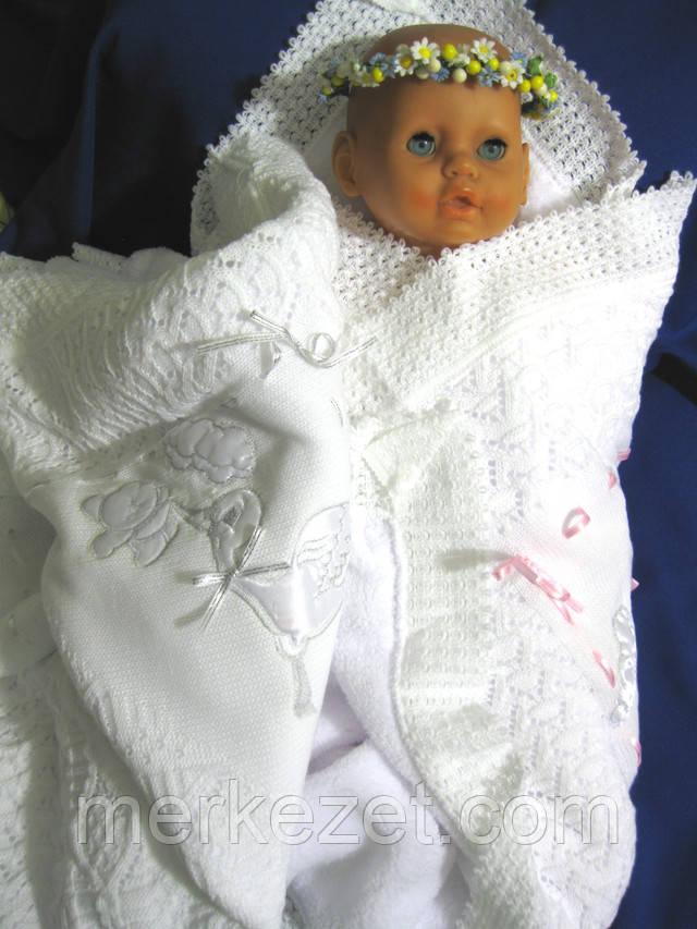 крижмо, крижма, плед, плед для новорожденного, одеяло, покрывало