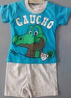 Костюм( футболка+ шорты)