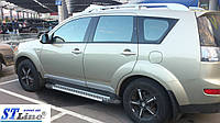 Боковые площадки BMW-тип Mitsubishi Outlander (2006-2010)