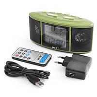 Часы настольные VST 783 с радио USB SD, многофункциональные часы с FM-приемником, электронные часы для дома