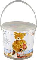 Мел цветной Jumbo, 15шт., в ведерке, Popcorn Bear, PO14-074K