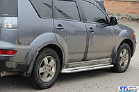 Боковые площадки Premium Mitsubishi Outlander (2010-2012)