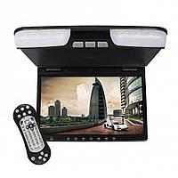 """Монитор автомобильный потолочный Klyde Ultra KDTV-3157 BL (15,6"""") черный"""
