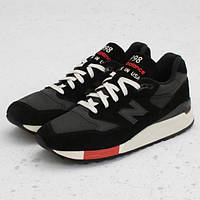 Мужские кроссовки New Balance 998 Made In The USA - Black/Red