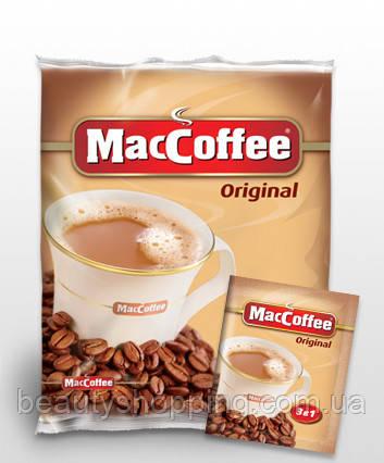Maccoffee Original кофейный напиток 3 в 1  100 штук