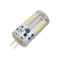 Світлодіодна лампа G4 3.5 W 12V 57pcs smd3014 Теплий білий