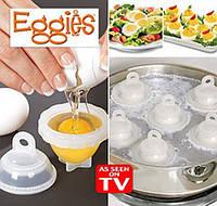 Прибор для варки яиц без скорлупы Eggies - яйцеварка без скорлупы, фото 1