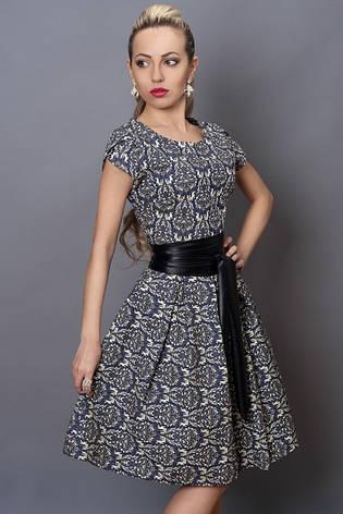 Женское платье с  узором летнее, фото 2