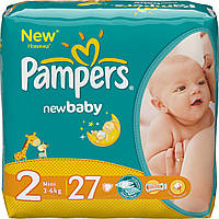 Подгузники Pampers Active Baby-Dry Midi 2 (3-6 кг) 27 шт