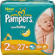 Подгузники Pampers Active Baby-Dry Midi 2 (3-6 кг) 27 шт