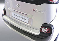 Накладка заднего бампера Citroen C3 Picasso 2009> Ribbed