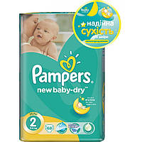 Подгузники Pampers Active Baby-Dry Midi 2, 3, 4,4+, 5 (3-6 кг) 68 шт