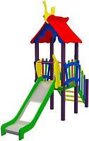 """Детский комплекс Kidigo """"Мини"""" высота горки 1,2  м"""