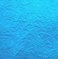 Бумага упаковочная жатая голубая