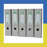 Папка - регистратор (сегрегатор) А4/80 ECOline (серый)