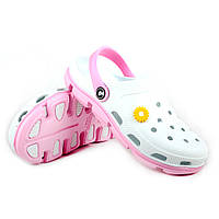 Обувь для пляжа женская белого цвета
