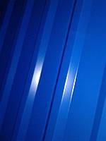 Некондиция профнастила НС-20 синий 5005