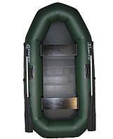 Лодка двухместная, 5-слойная,  пвх omega Ω 245 LS