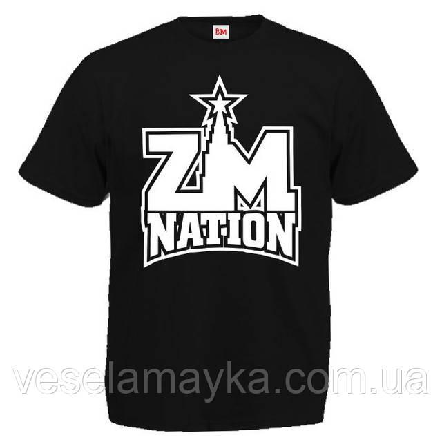 "Футболка ""ZM Nation (Guf)"""