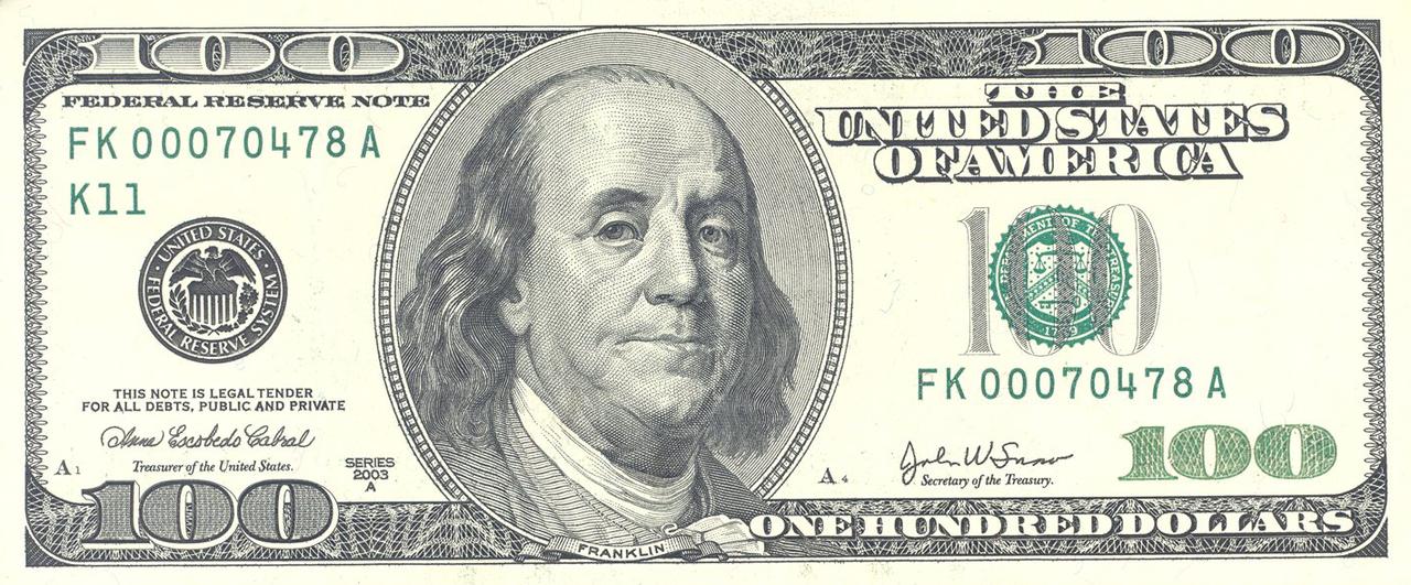 Вафельная картинка для тортов Доллары 7