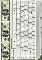 Вафельная картинка для тортов Доллары 9
