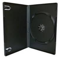 Бокс для 1 DVD диска 9mm Black глянцевая пленка