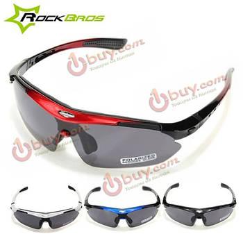 Солнцезащитные очки поляризованные комплект 5 съемних линз RockBros