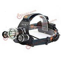 Налобный фонарь светодиодный Хт-L T6 LED 4 режима