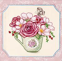 """Схема для вышивания бисером на подрамнике (цветы) """"Любимый букет-4"""""""