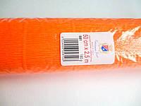 Креп-бумага (гофробумага) оранжевая 180г/м