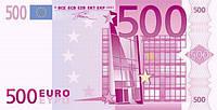 Вафельная картинка для тортов Евро 1