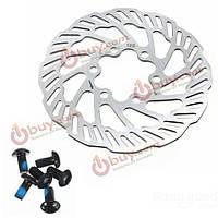 Тормозные дисковые роторы велосипедные с болтами 120/140/160/180/203 мм