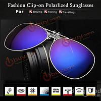 Очки авиаторы с креплением на очки солнцезащитные