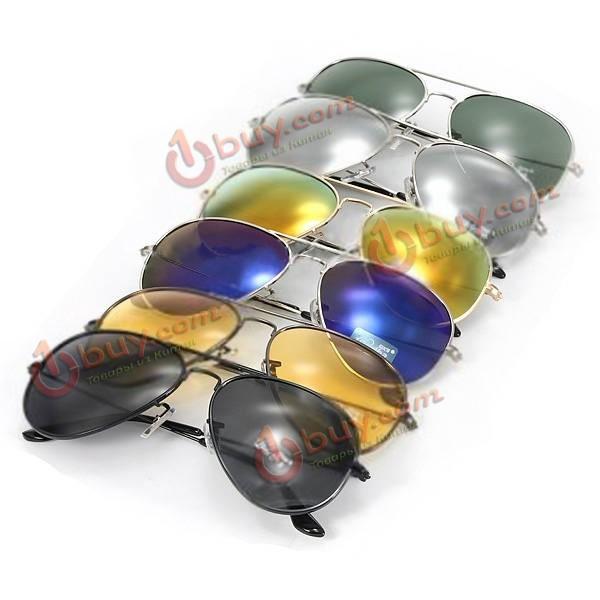 Классические поляризованные солнцезащитные очки Авиаторы