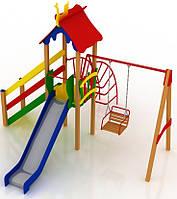 """Детский комплекс Kidigo """"Бабочка"""" высота горки 0,9  м"""