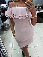 e0c018bf26f Платье - футляр с воланами оптом в Хмельницком. Сравнить цены ...