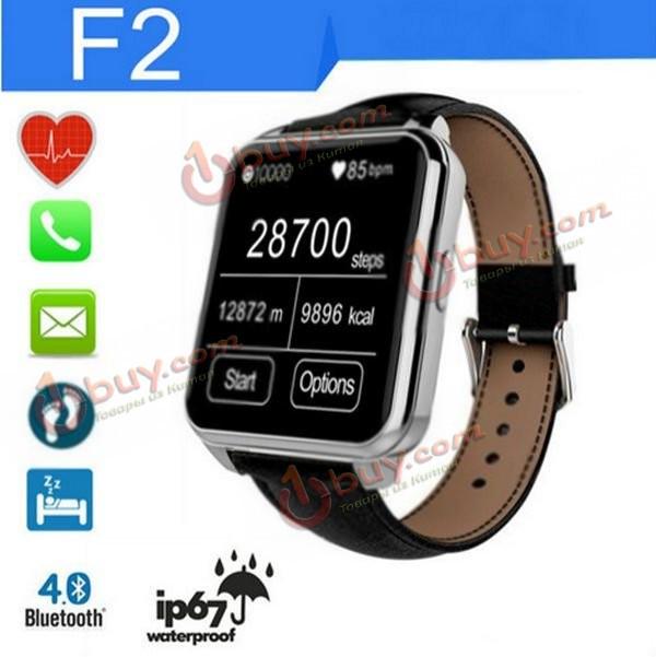 Smart часы водонепроницаемые F2 Bluetooth  IPS IP67 IOS Андроид