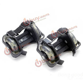 Дрифтинг колеса (ролики на пятку) для катания с фиксацией ноги ремнем