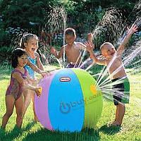 Детский надувной мяч фонтан