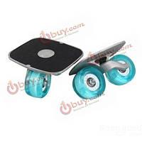 Дрифт скейт на двух колесах раздельный