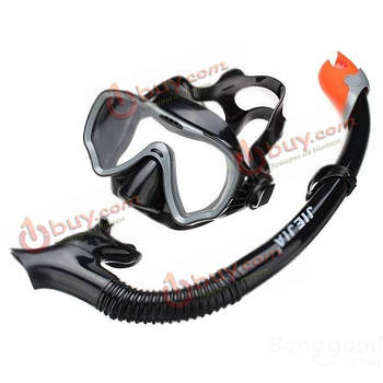 Набор для подводного плавания: маска, очки JiaJia