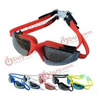 Плавательные очки силиконовые с защитой от солнца