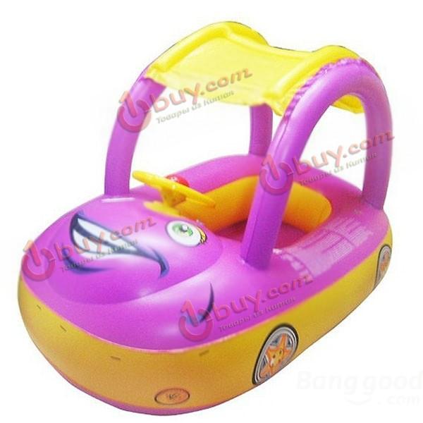 Надувной круг детский автомобиль для маленьких детей от 1 года