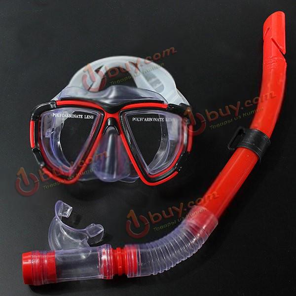 Снаряжение для дайвинга: маска и трубка