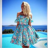 Красивое нарядное платье с фатиновым подъюбником