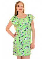Платье летнее с рюшей Виола, фото 1