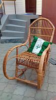 Крісло качалки плетені на будь-який смак