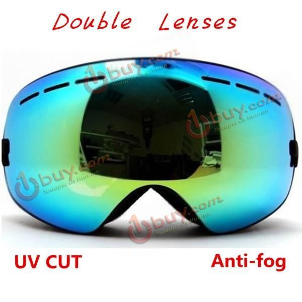 Очки лыжные двойная незапотевающая линза