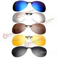 Поляризованная накладка клип на солнцезащитные очки