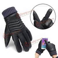 Перчатки зимние мужские тачскрин для сенсорных телефонов